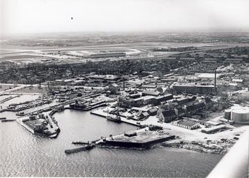 Kastrup Industrihavn ca. 1960