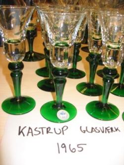 Glas fra 1965 fra Kastrup Glasværk