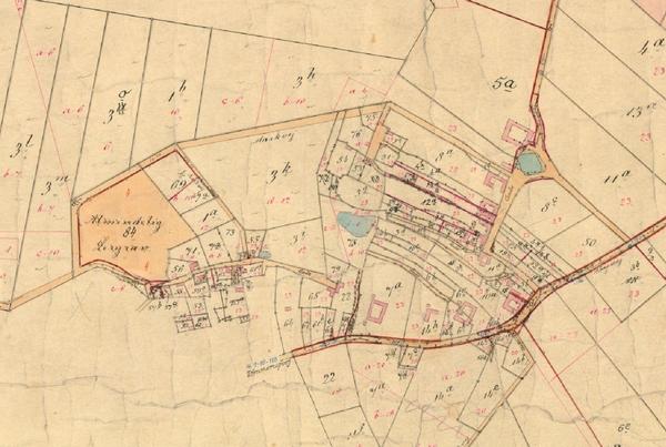 Kort over Tømmerup 1913-1953