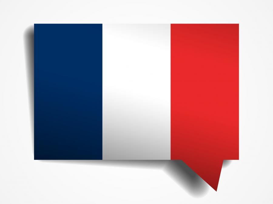 Fransk samtale gruppe