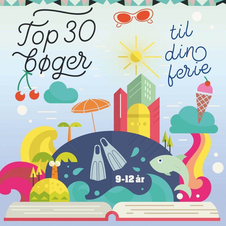 Top 30 - bøger til din ferie