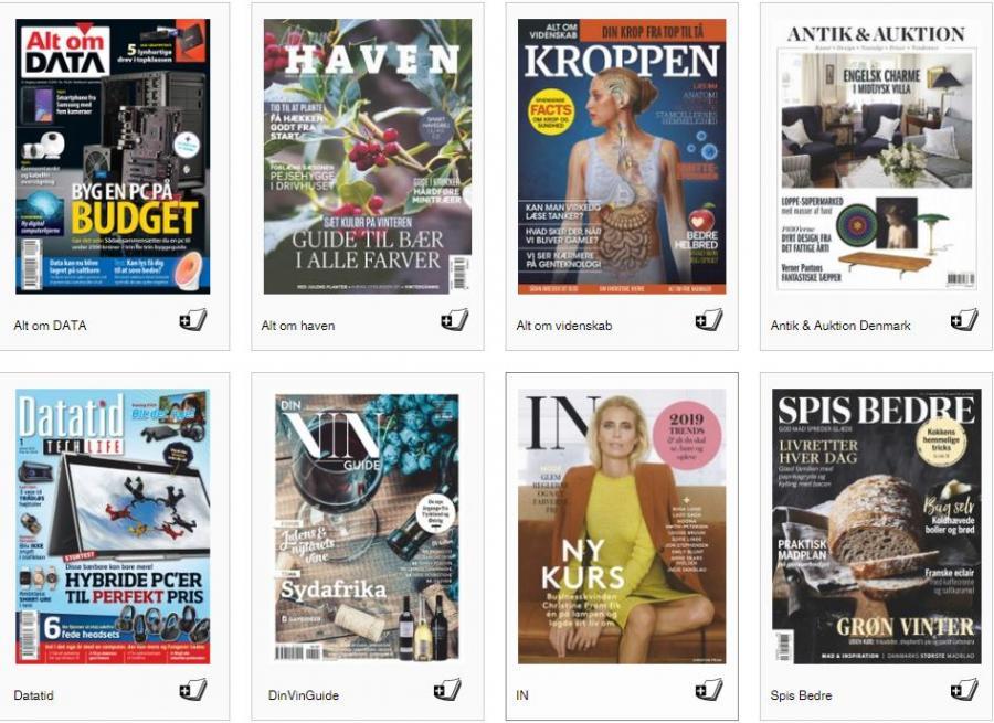 Danske magsiner i RB Digital