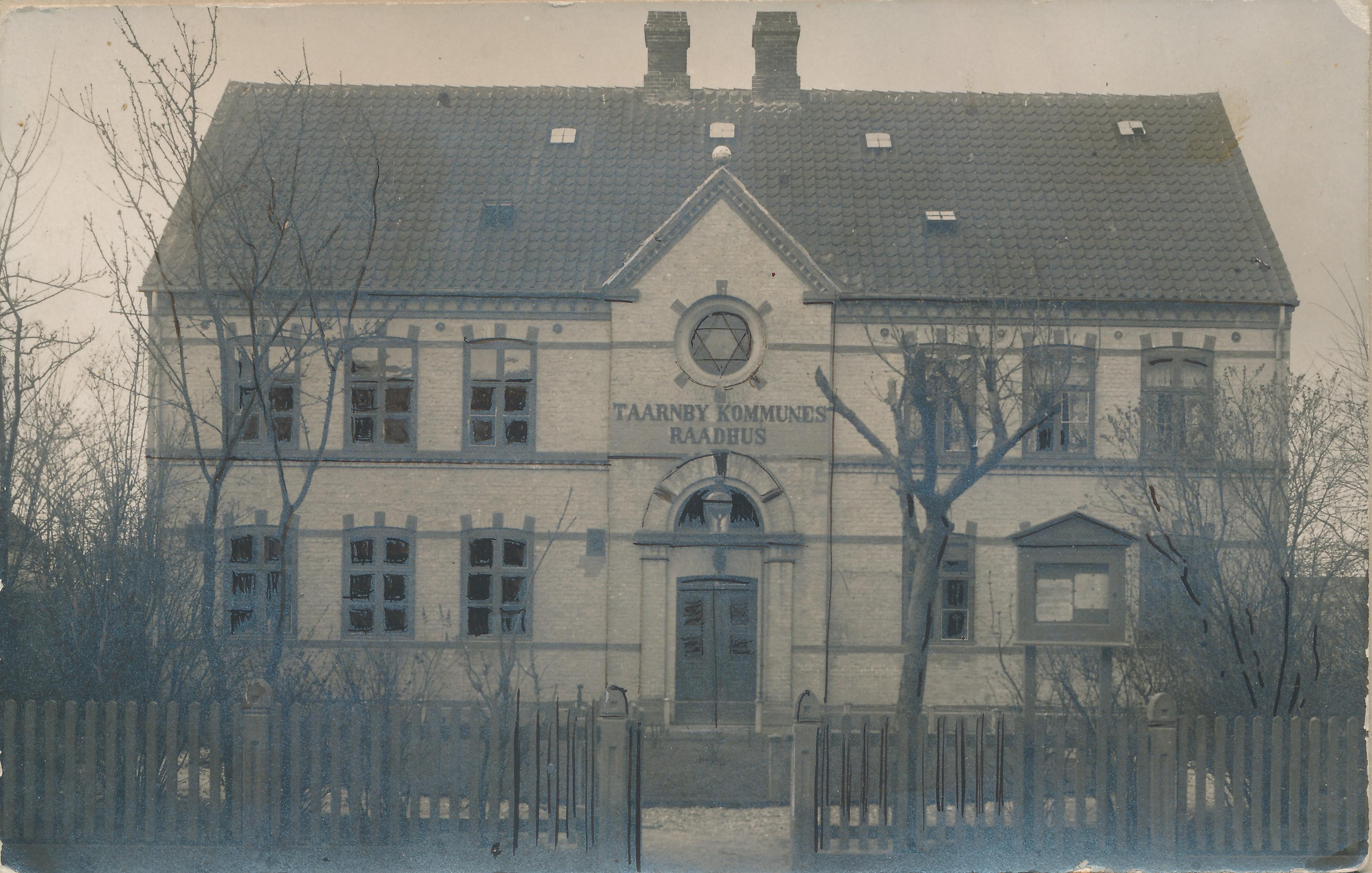 Tårnby Rådhus i Kastruplundgade